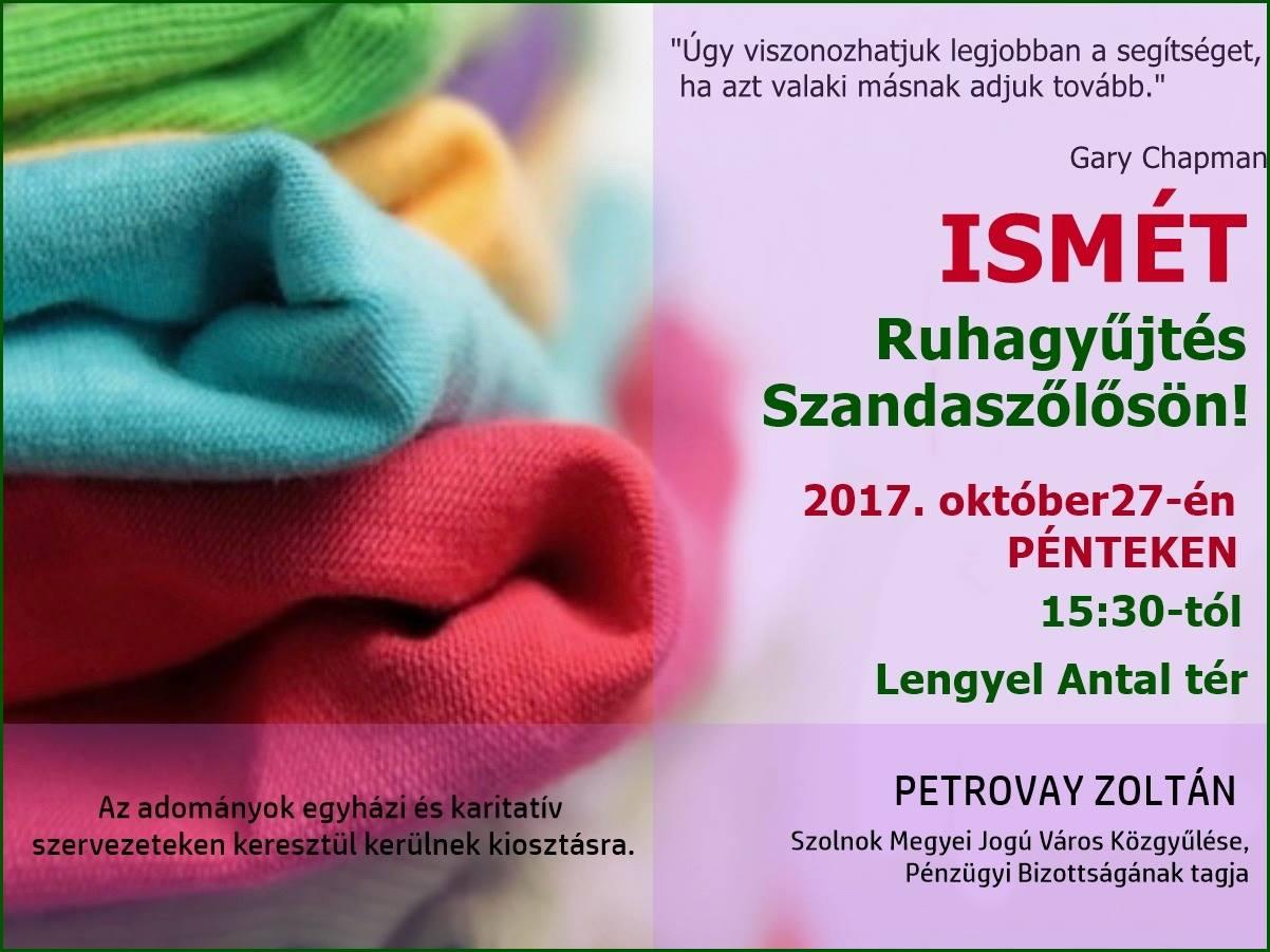 Petrovay Zoltán Ruhagyűjtés 10.27 2.