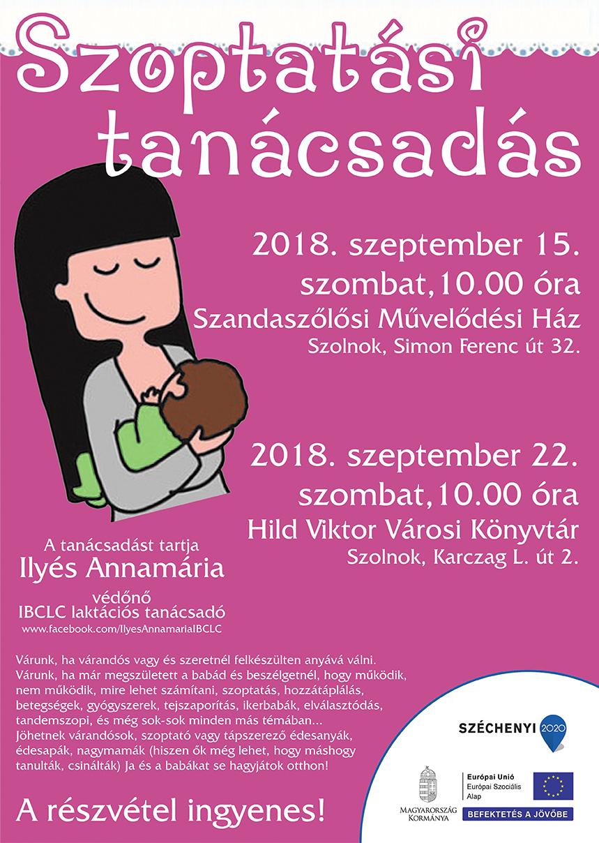 szoptatós 2018 szeptember