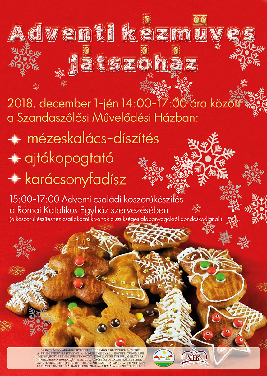 advent plakát