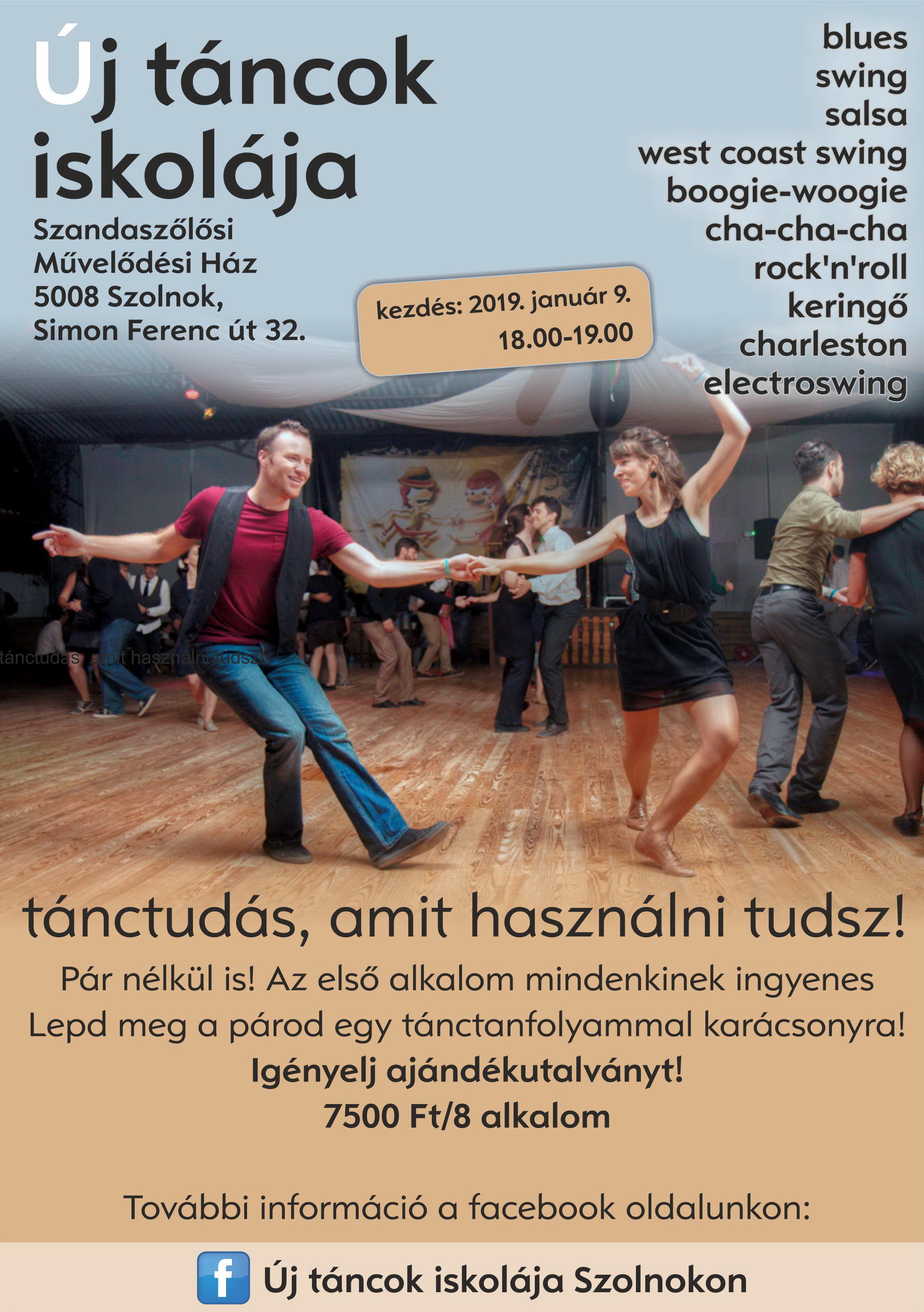 Modern táncok iskolája